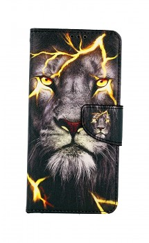 Knížkové pouzdro na Samsung A12 Magický lev