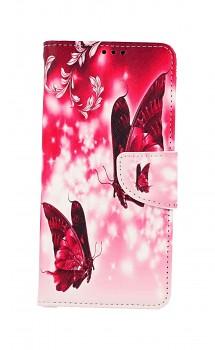 Knížkové pouzdro na Samsung A12 Zamilovaní motýlci