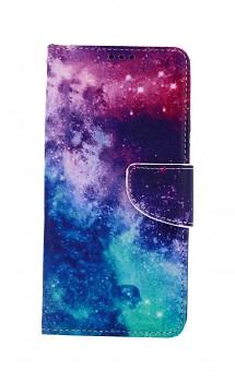 Knížkové pouzdro na Samsung A12 Vesmír