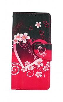 Knížkové pouzdro na Samsung A12 Romantika