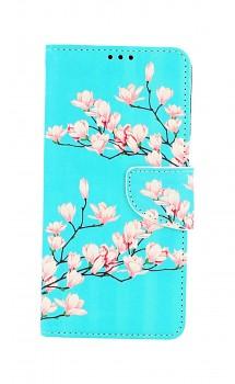 Knížkové pouzdro na Samsung A12 Magnolie