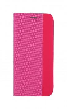 Knížkové pouzdro Sensitive Book na Samsung A12 růžové