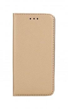 Knížkové pouzdro Smart Magnet na iPhone SE 2020 zlaté