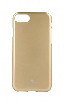 Zadní kryt Mercury Jelly Case na iPhone SE 2020 zlatý