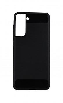 Zadní silikonový kryt na Samsung S21 černý
