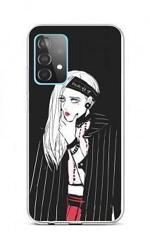 Zadní silikonový kryt na Samsung A52 Dark Girl