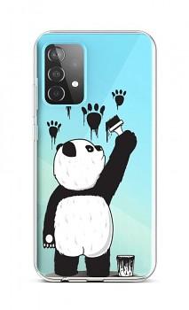 Zadní silikonový kryt na Samsung A52 Rebel Panda