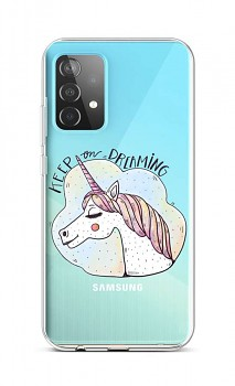 Zadní silikonový kryt na Samsung A52 Dreaming