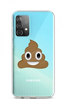 Zadní silikonový kryt na Samsung A52 Poo