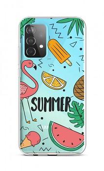 Zadní silikonový kryt na Samsung A52 Summer