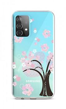 Zadní silikonový kryt na Samsung A52 Cherry Tree