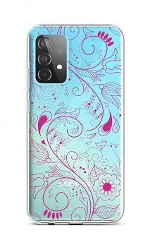 Zadní silikonový kryt na Samsung A52 Pink Ornament