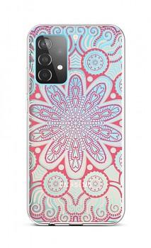 Zadní silikonový kryt na Samsung A52 Romantic Mandala