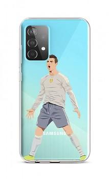 Zadní silikonový kryt na Samsung A52 Fotbalista