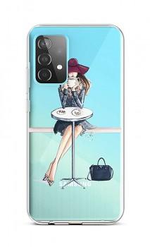 Zadní silikonový kryt na Samsung A52 Lady 6