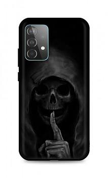 Zadní silikonový kryt DARK na Samsung A52 Dark Grim Reaper