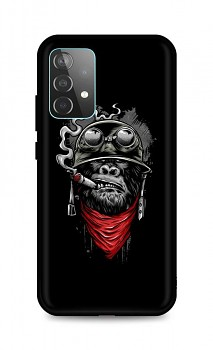 Zadní silikonový kryt DARK na Samsung A52 Gorilla