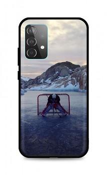 Zadní silikonový kryt DARK na Samsung A52 Hockey Goalie