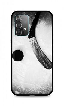 Zadní silikonový kryt DARK na Samsung A52 Hockey