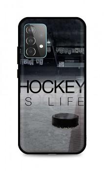 Zadní silikonový kryt DARK na Samsung A52 Hockey Is Life