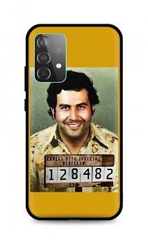 Zadní silikonový kryt DARK na Samsung A52 Pablo Escobar
