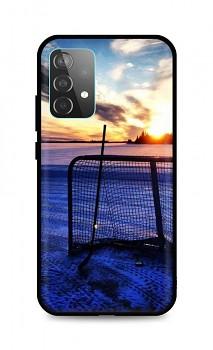 Zadní silikonový kryt DARK na Samsung A52 Hockey Sunset