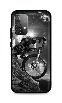 Zadní silikonový kryt DARK na Samsung A52 Mountain Rider