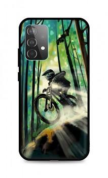Zadní silikonový kryt DARK na Samsung A52 Mountain Bike