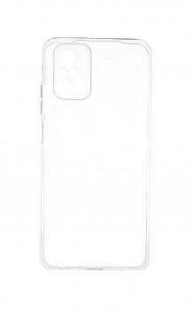 Ultratenký silikonový kryt na Xiaomi Redmi Note 10 0,5 mm průhledný