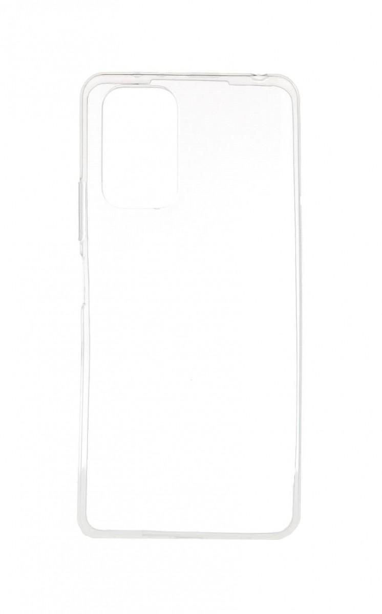Ultratenký silikonový kryt na Xiaomi Redmi Note 10 Pro 0,5 mm průhledný