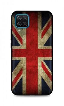 Zadní 3D silikonový kryt na Samsung A12 Anglie
