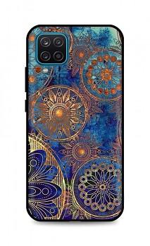 Zadní 3D silikonový kryt na Samsung A12 Modrý orient