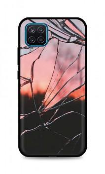 Zadní pevný kryt LUXURY na Samsung A12 Pink Broken