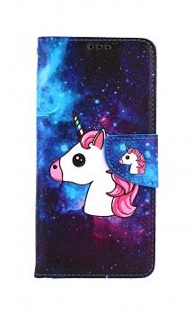Knížkové pouzdro na Samsung A52 Space Unicorn