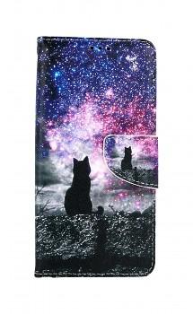 Knížkové pouzdro na Samsung A52 Hvězdná obloha