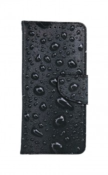 Knížkové pouzdro na Samsung A52 Kapky