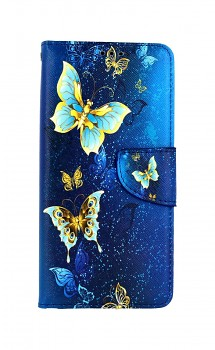 Knížkové pouzdro na Samsung A52 Kouzelní motýlci