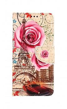 Knížkové pouzdro na Samsung A52 Rozkvetlá Paříž