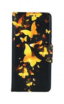 Knížkové pouzdro na Samsung A52 Luxusní motýlci