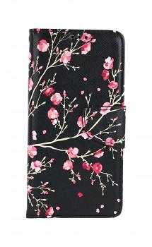 Knížkové pouzdro na Samsung A52 Noční květy