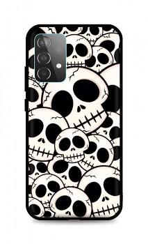 Zadní pevný kryt LUXURY na Samsung A52 Skulls