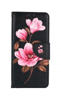 Knížkové pouzdro na Samsung A52 Tři květy