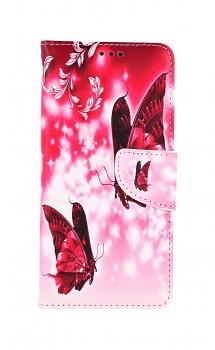 Knížkové pouzdro na Samsung A52 Zamilovaní motýlci