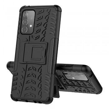 Ultra odolný zadní kryt na Samsung A52 černý
