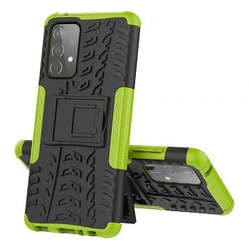 Ultra odolný zadní kryt na Samsung A52 zelený