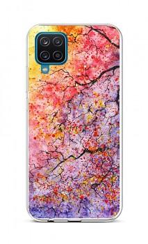 Zadní silikonový kryt na Samsung A12 Abstract Tree