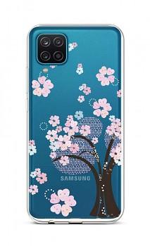 Zadní silikonový kryt na Samsung A12 Cherry Tree