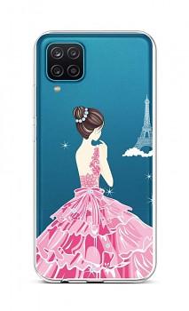 Zadní silikonový kryt na Samsung A12 Pink Princess