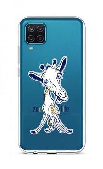 Zadní silikonový kryt na Samsung A12 Zoo Life