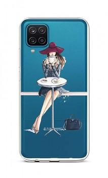 Zadní silikonový kryt na Samsung A12 Lady 6